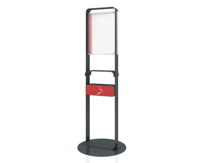Steel notice board / ashtray JOEY - LAB23 Gibillero Design Collection