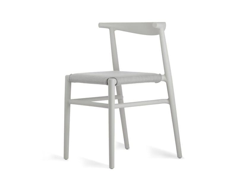 Polypropylene garden chair JOI TWENTY | Garden chair by KUBIKOFF