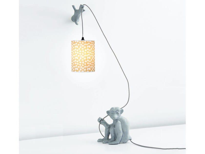 Ceramic wall lamp JOLI CŒUR - Moustache
