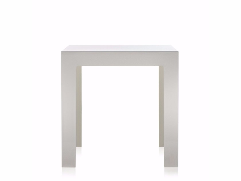 square polycarbonate coffee table jollykartell design paolo