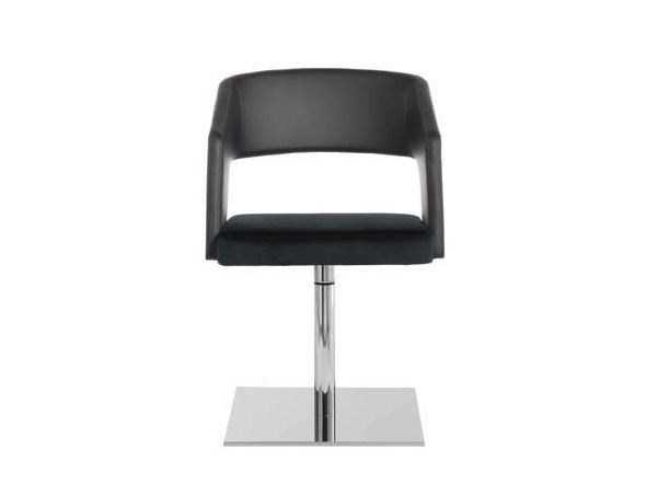 Swivel upholstered easy chair JOLLY   Swivel easy chair - Potocco