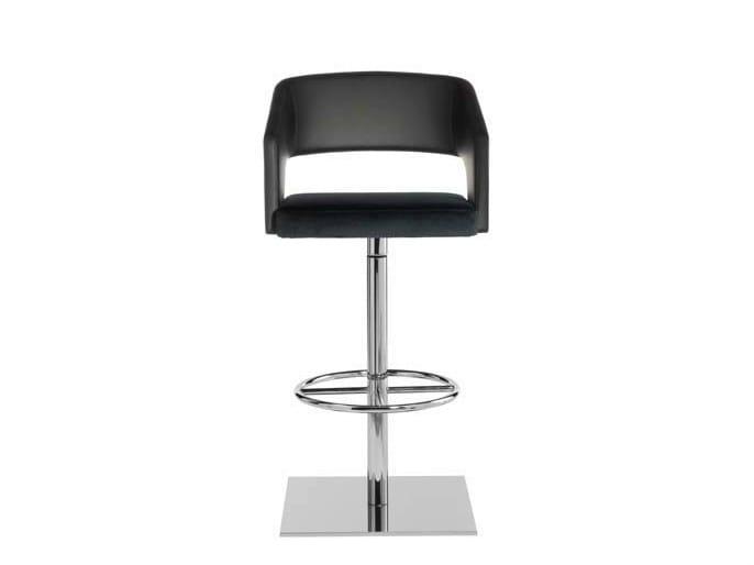 Swivel counter stool JOLLY | Counter stool - Potocco