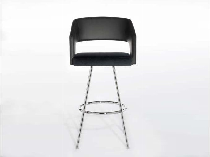 Swivel counter stool JOLLY | Swivel chair - Potocco