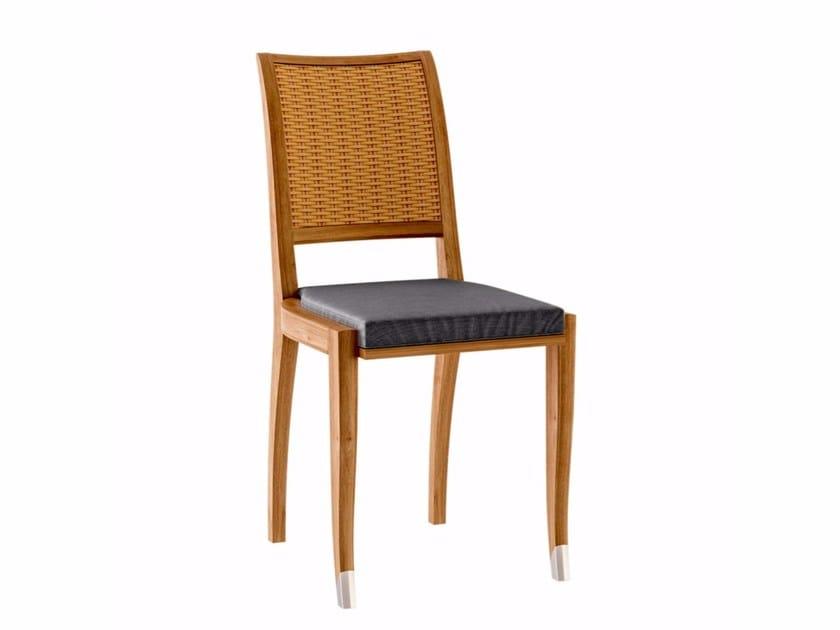Teak garden chair JONQUILLE | Garden chair - ASTELLO