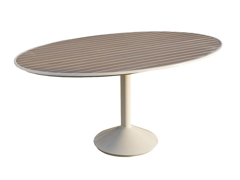 Oval table JOURNEY 23090 - SKYLINE design