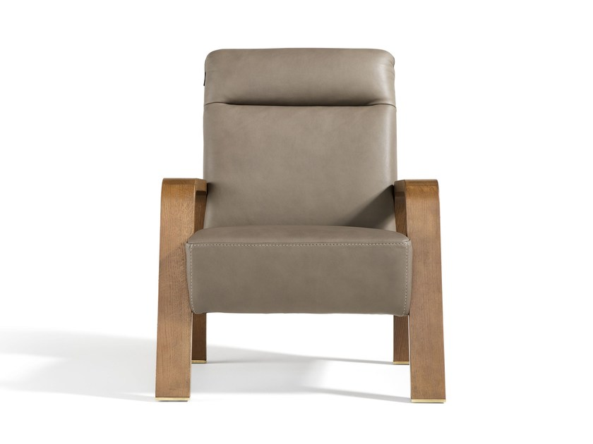 Easy chair with armrests JOY by Egoitaliano