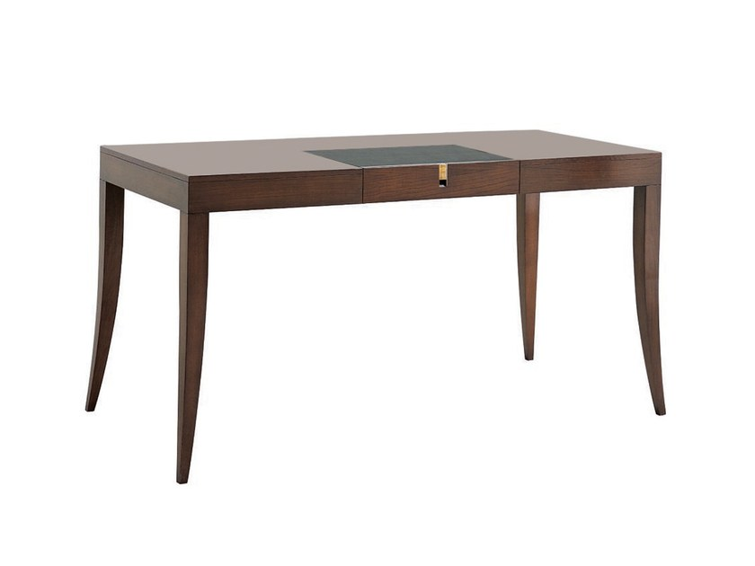 Rectangular wooden office desk JUBILEE | Writing desk - SELVA