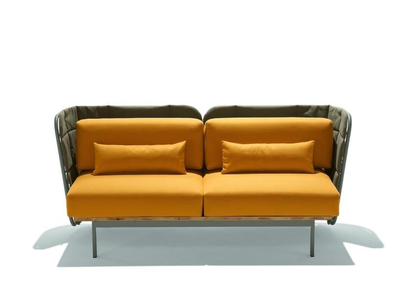 Metal sofa JUJUBE D-B - CHAIRS & MORE