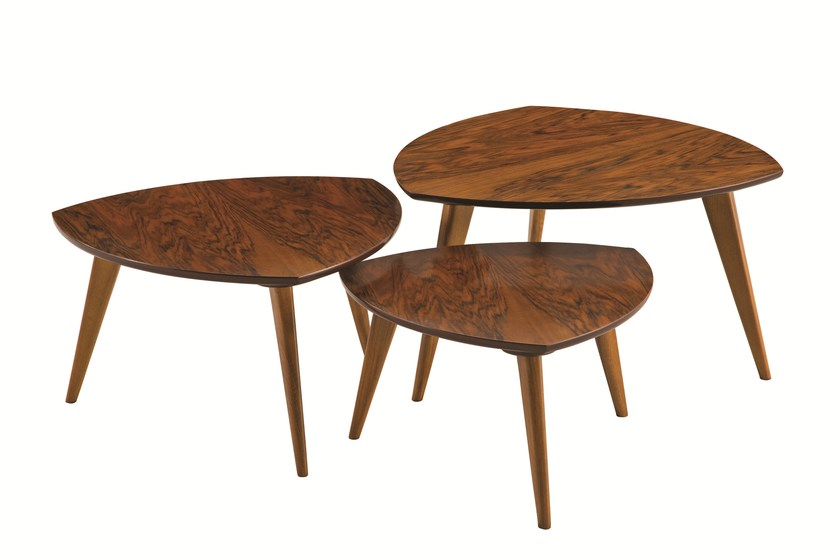 Walnut coffee table JULES - ROCHE BOBOIS