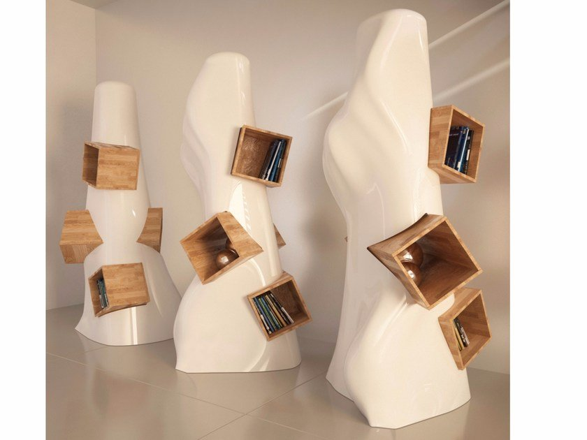 Libreria a giorno autoportante in Adamantx® K2 - ZAD ITALY