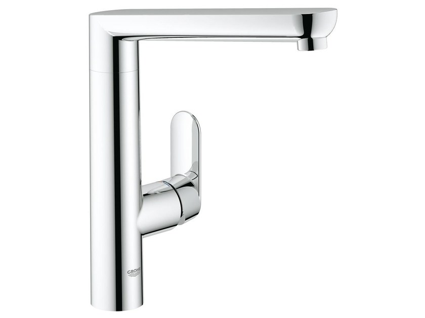 Countertop 1 hole kitchen mixer tap with swivel spout K7 | Kitchen mixer tap by Grohe