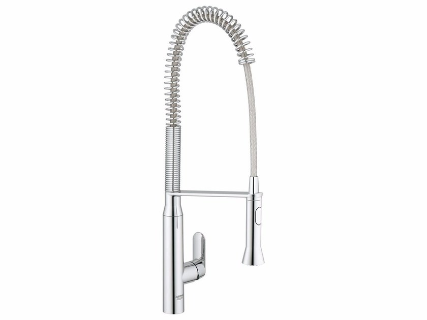 1 hole kitchen mixer tap with swivel spout K7 SIZE L | Professional kitchen mixer tap by Grohe