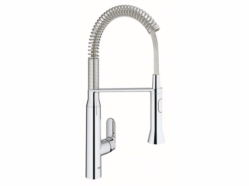 1 hole kitchen mixer tap with swivel spout K7 SIZE M | Professional kitchen mixer tap by Grohe