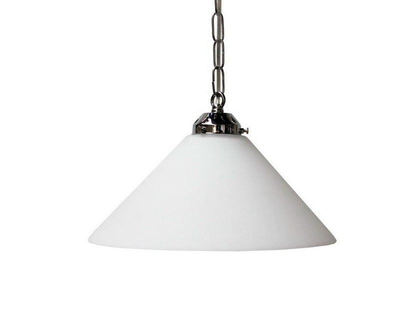 Direct light handmade pendant lamp KABUL 300mm COOLIE PENDANT LIGHT - Mullan Lighting