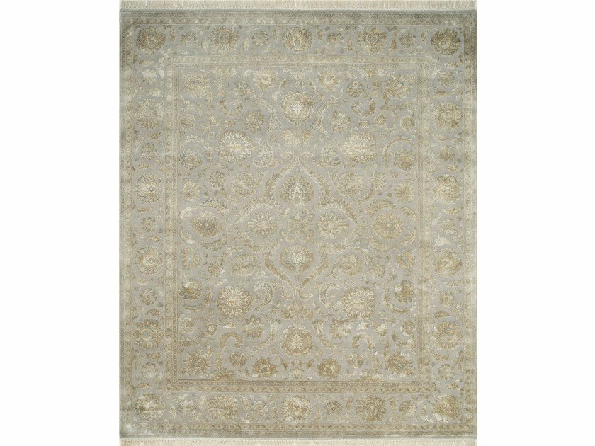 Handmade rug KAIMI QNQ-21 Crystal Gray/Crystal Gray by Jaipur Rugs