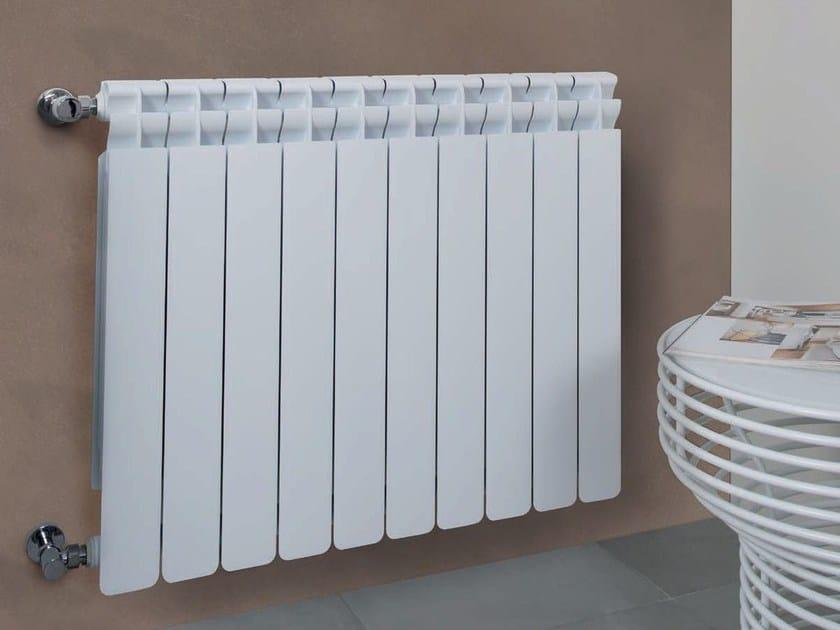 Hot-water wall-mounted die cast aluminium decorative radiator KALDO - Radiatori2000