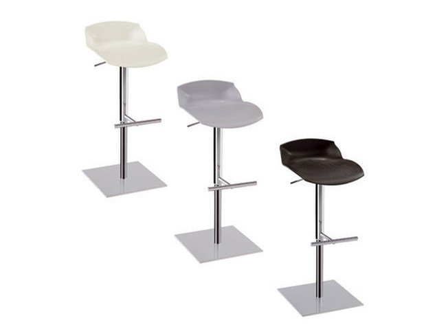 Stool with footrest KALEIDOS | Stool - Caimi Brevetti