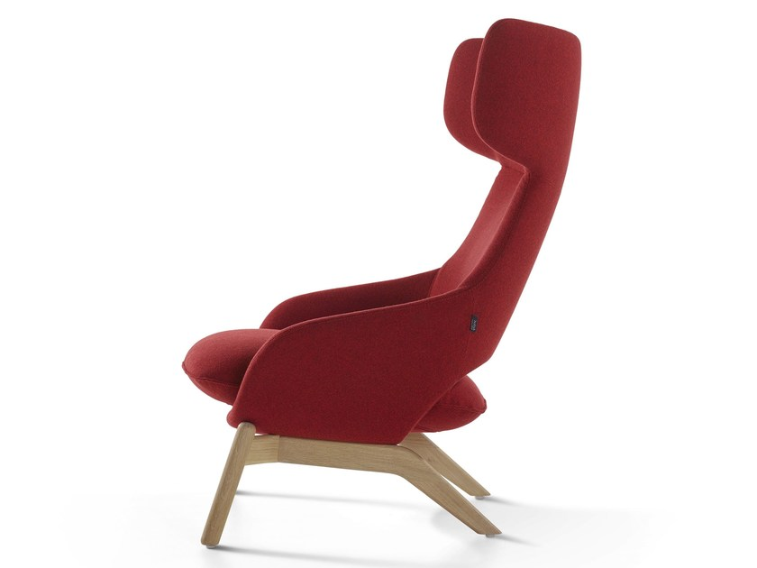 Armchair with headrest KALM | Armchair - Artifort