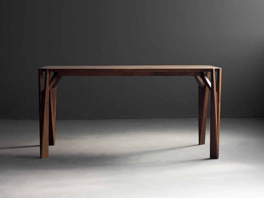 Solid wood table KAMINARI - HOOKL und STOOL