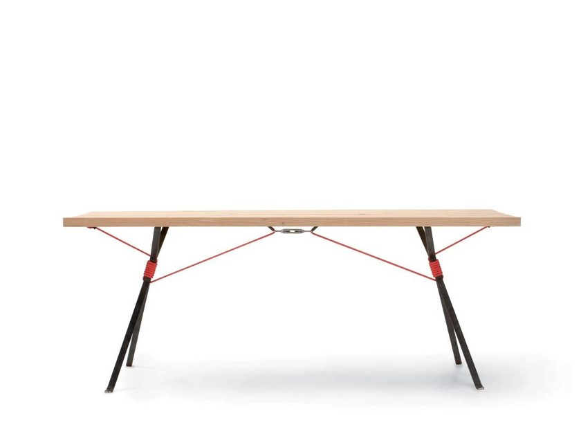 Spruce bench KAMPENWAND | Bench by Nils Holger Moormann
