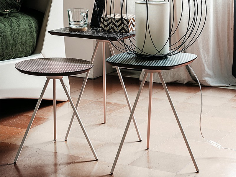 Maple side table KAOS by Cattelan Italia