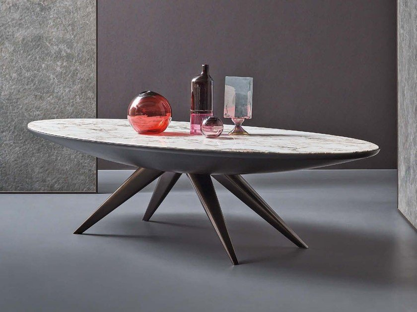 Marble table KARA | Table - Natevo