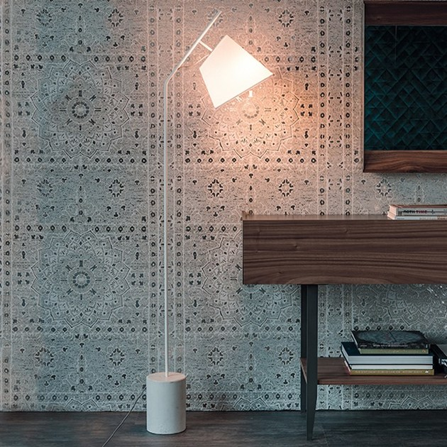 Steel floor lamp KARIBÙ - Cattelan Italia
