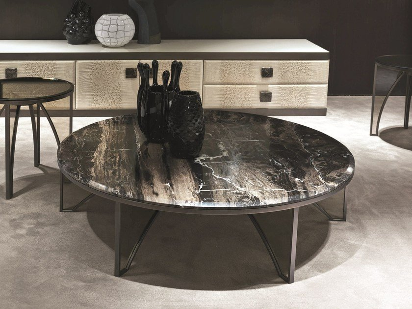 Round coffee table KARL | Coffee table by Longhi