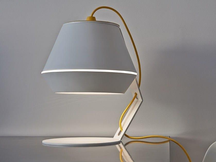 Lampada da tavolo a LED in metallo KASA M - Exporlux