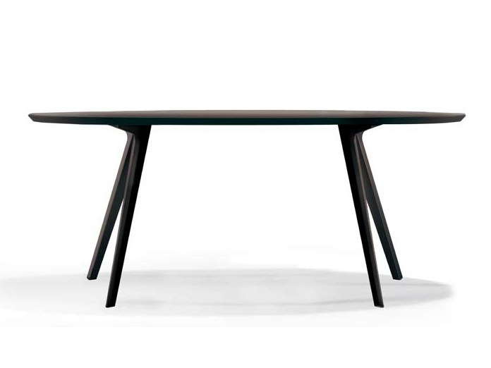 Oval dining table KATANA | Oval table - Potocco