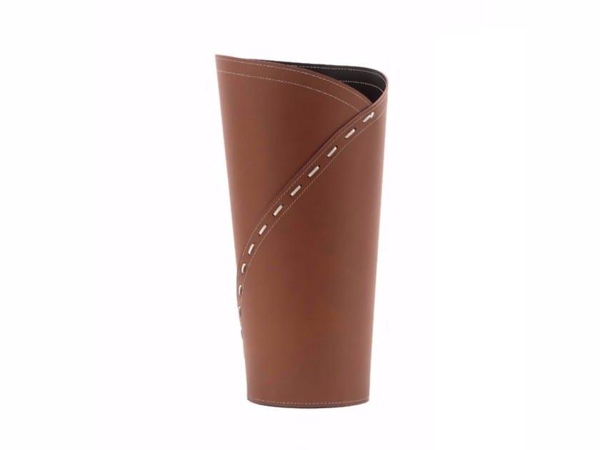 Bonded leather umbrella stand KATRINA by LIMAC design FIRESTYLE