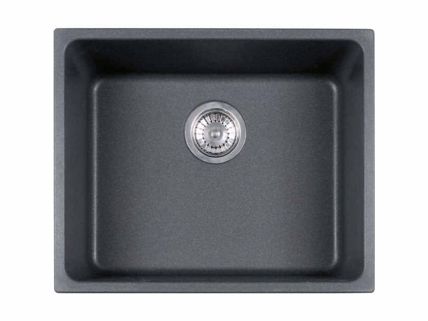 lavello a una vasca da incasso sottotop in fragranite® kbg 110 ... - Lavello Cucina Franke Fragranite