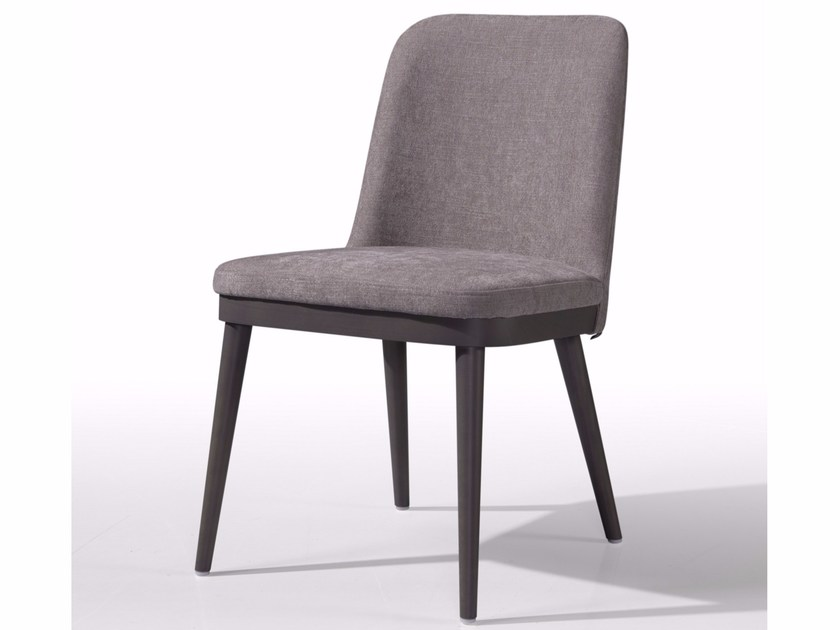 Upholstered fabric chair KELLY - Fenabel - The heart of seating
