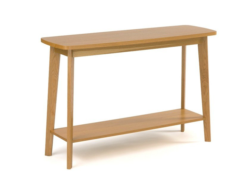 Rectangular wooden console table KENSAL | Console table - Woodman