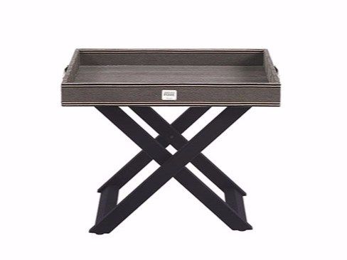 Velvet coffee table with tray KENSINGTON - Gianfranco Ferré Home