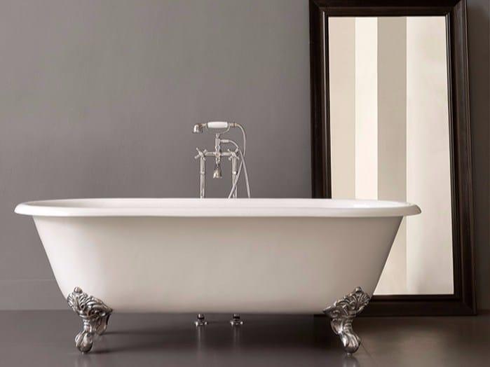 Cast iron bathtub on legs KENT - BATH&BATH