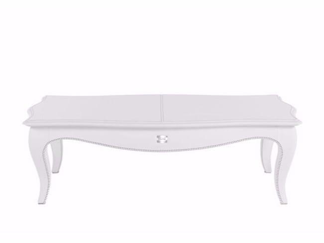 Tavolino basso laccato da salotto KENT | Tavolino rettangolare - Gianfranco Ferré Home