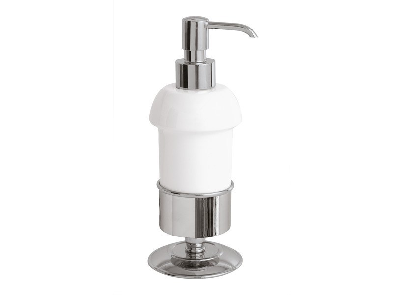 Ceramic liquid soap dispenser KENT | ceramic soap dispenser - GENTRY HOME