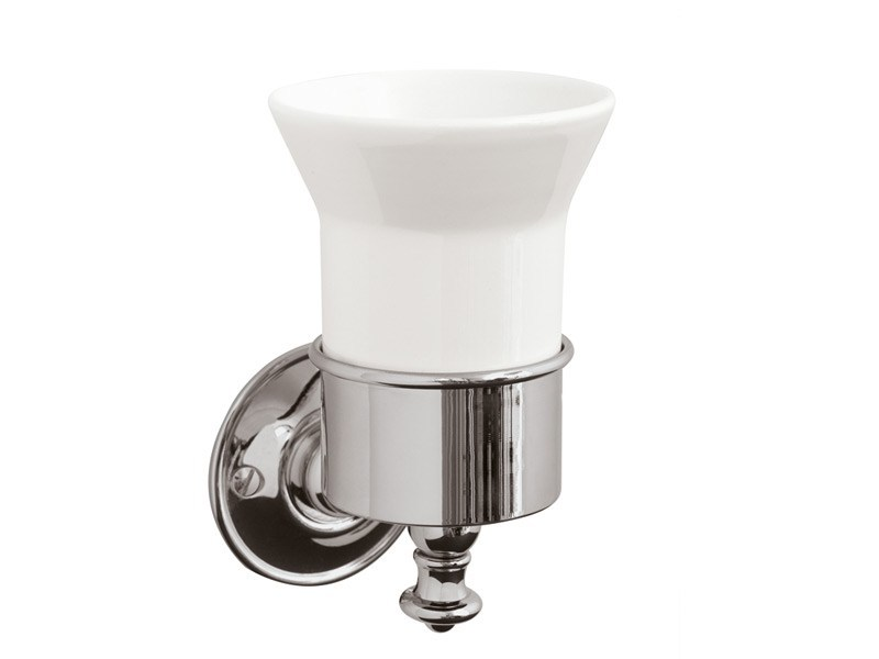 Ceramic toothbrush holder KENT | tumbler holder - GENTRY HOME