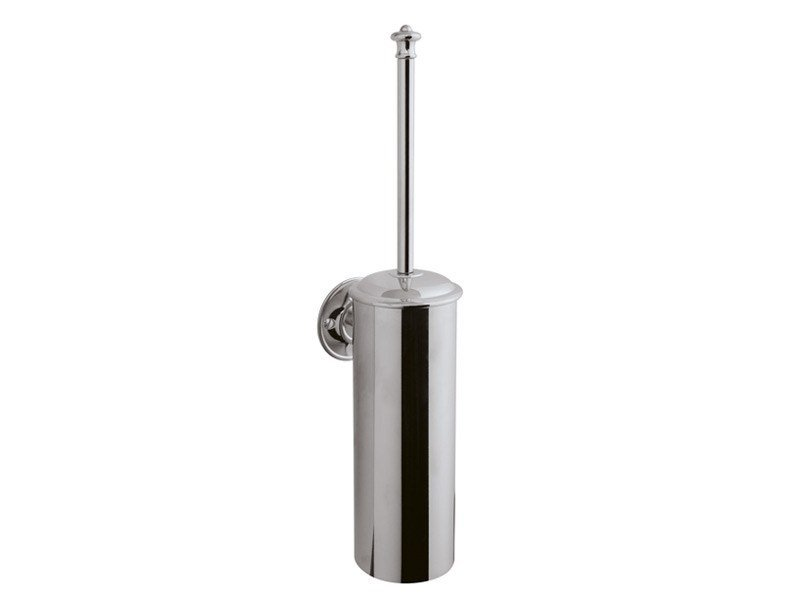 Wall-mounted toilet brush KENT | toilet brush holder wall mounted - GENTRY HOME