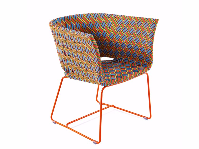 Easy chair with synthetic fiber weaving KENTE | Easy chair - Varaschin