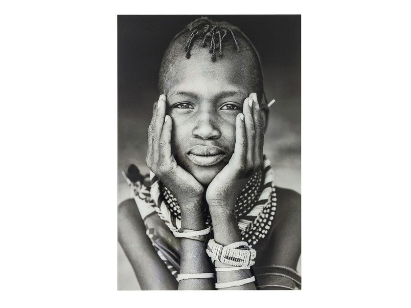 Photographic print / Print on glass KENYAN CHILD by KARE-DESIGN
