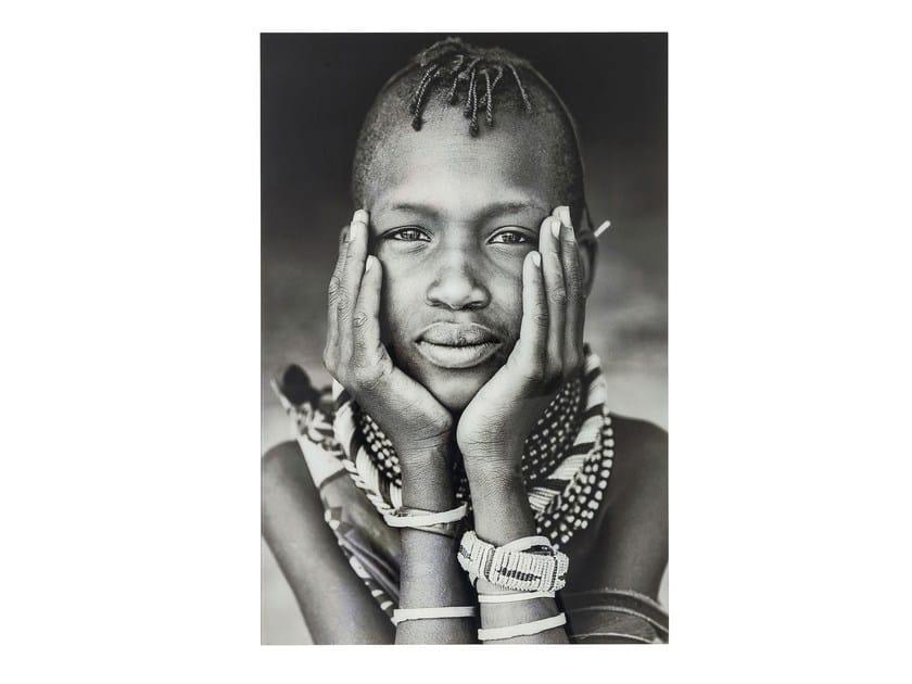 Stampa fotografica su vetro KENYAN CHILD - KARE-DESIGN
