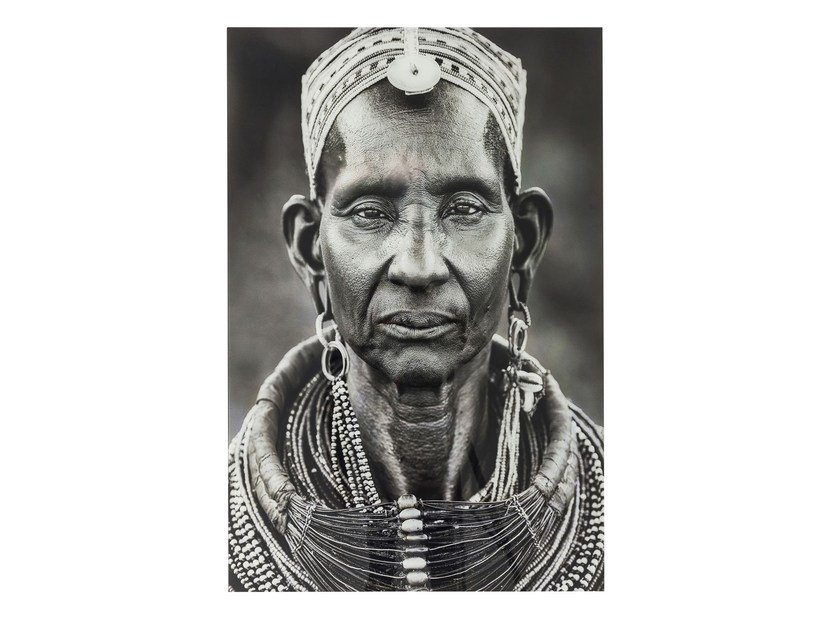 Photographic print / Print on glass KENYAN WOMAN - KARE-DESIGN