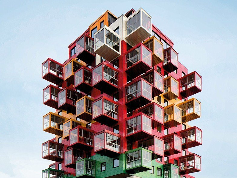 Ceramic materials Continuous facade system KERATWIN® K20 / K18 by AGROB BUCHTAL