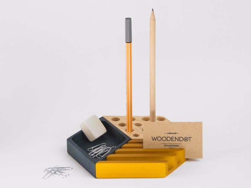Pine desk organizer KESITO - Woodendot