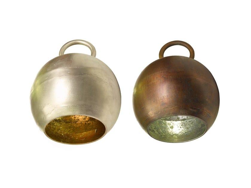 Lampada da terra in alluminio KETTLEBELL - Pols Potten