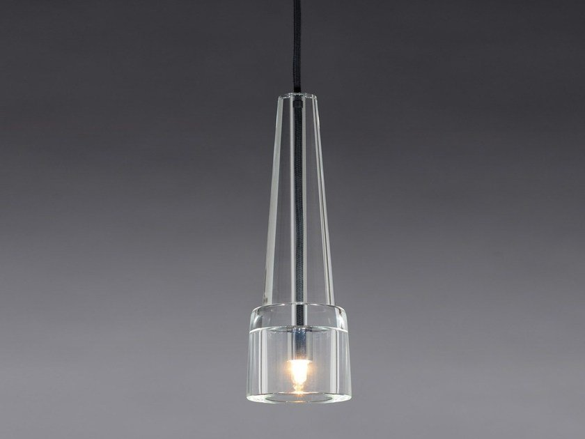 Direct light crystal pendant lamp KEULE 1 - J.T. Kalmar