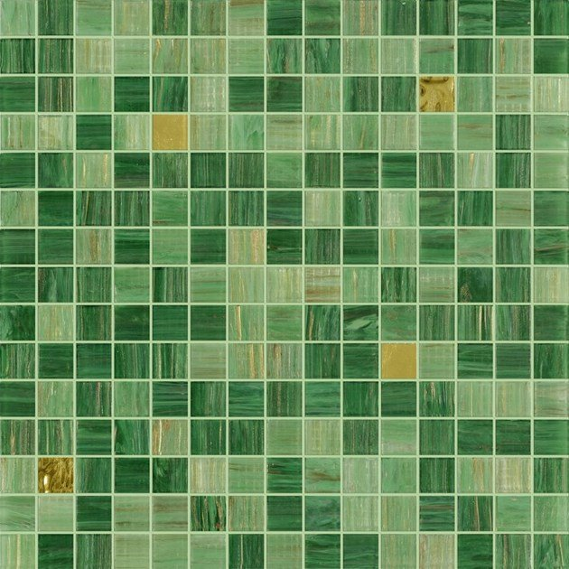 Glass mosaic KILAUEA GOLD - Elements Mosaic