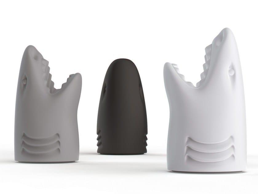 Polyethylene umbrella stand / storage box KILLER by Qeeboo